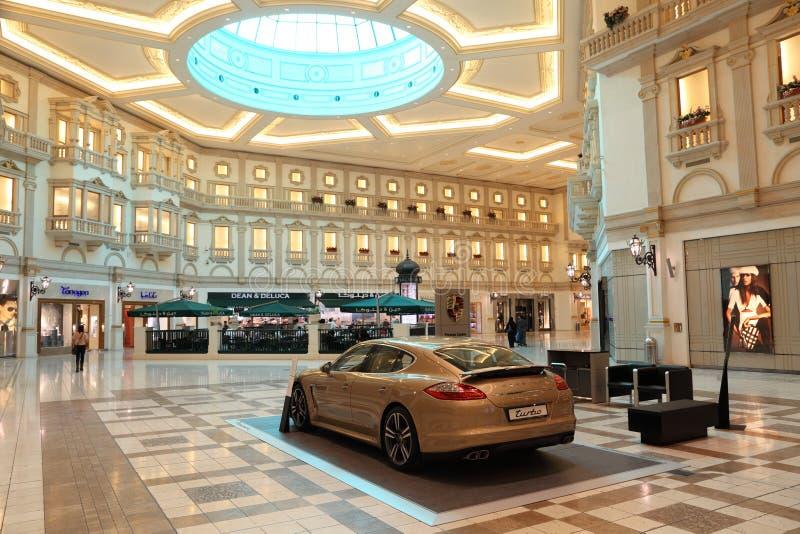 Centro comercial de la alameda de Villaggio, Doha imagen de archivo libre de regalías