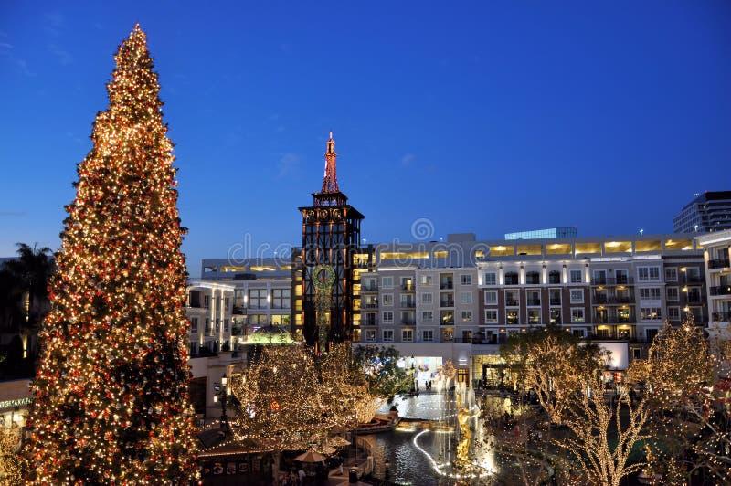 Centro comercial de Los Angeles imagem de stock