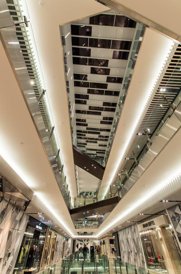 Centro comercial de Melbourne del emporio en Melbourne, Australia imagen de archivo libre de regalías