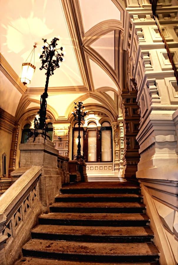 Centro comercial de Moscovo fotos de stock
