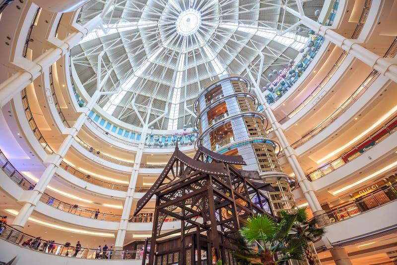 Centro comercial de Suria KLCC fotografía de archivo