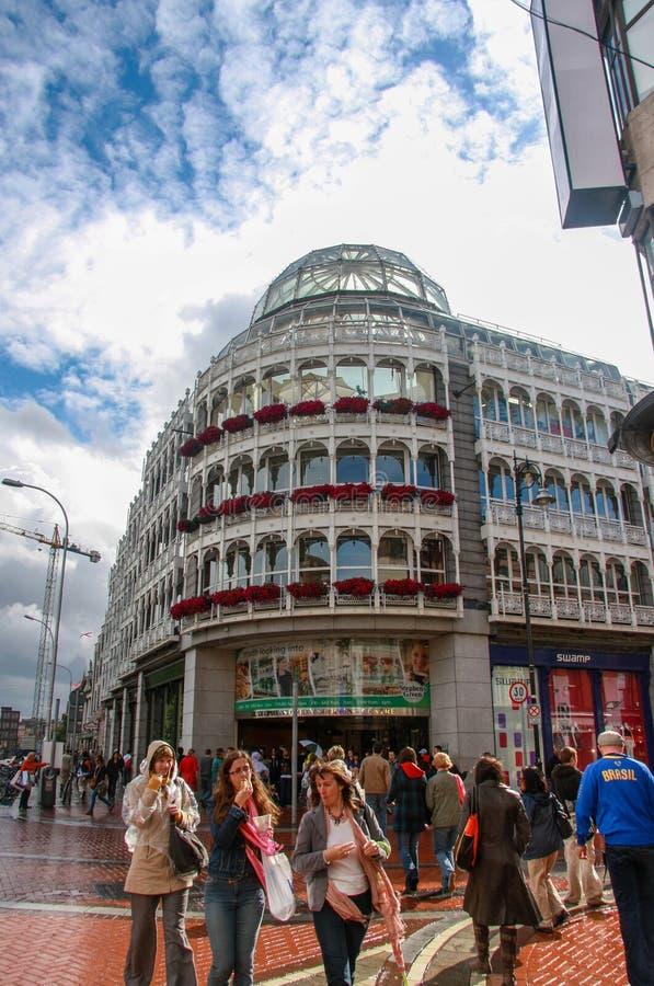 Centro comercial del verde de Stephen's imagenes de archivo