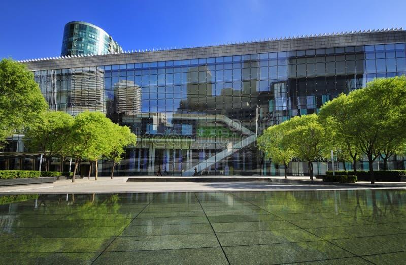 Centro comercial do comércio internacional de Beijing imagens de stock royalty free