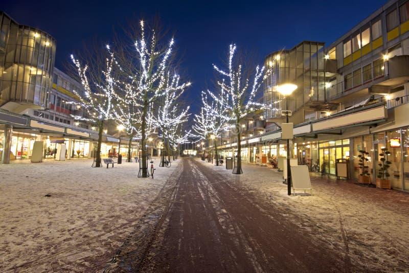 Centro comercial em Amsterdão o Neth fotografia de stock royalty free