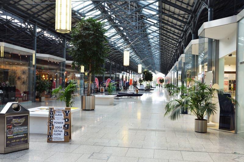 Centro comercial en Dublín fotografía de archivo libre de regalías