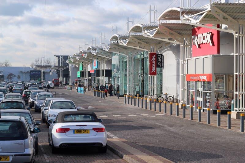 Centro comercial ou alameda. foto de stock royalty free