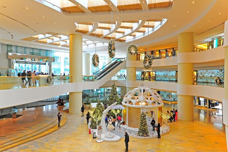 Centro comercial pacífico do lugar, Hong Kong imagem de stock royalty free
