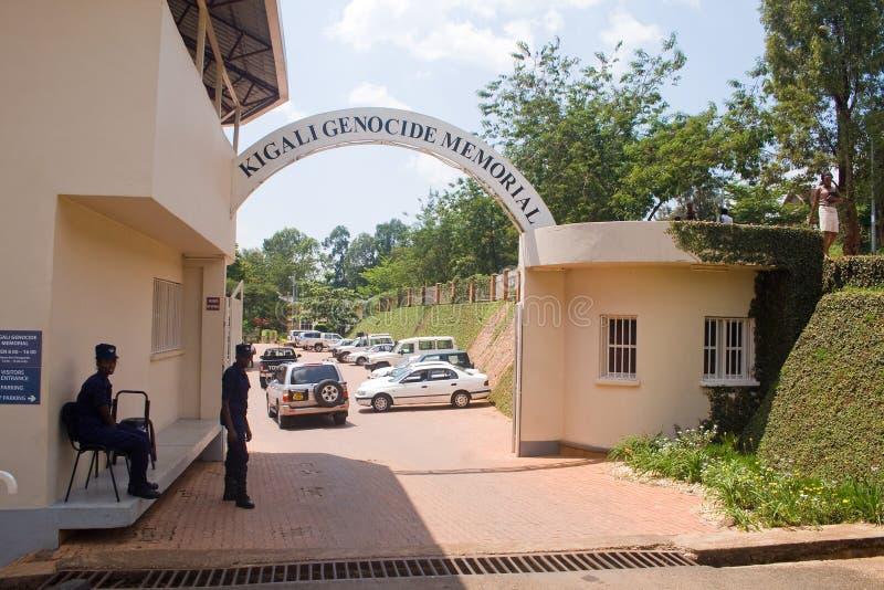 Centro commemorativo di genocidio di Kigali, Ruanda fotografia stock libera da diritti