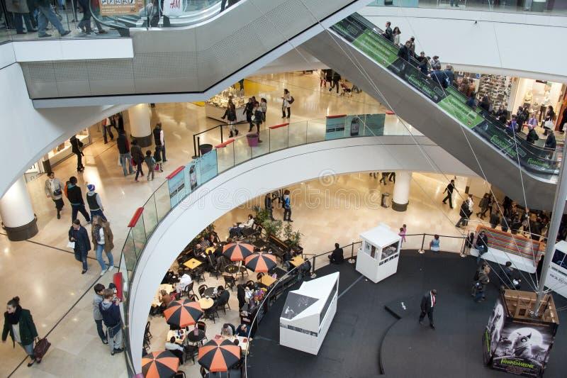 Centro commerciale immagine stock