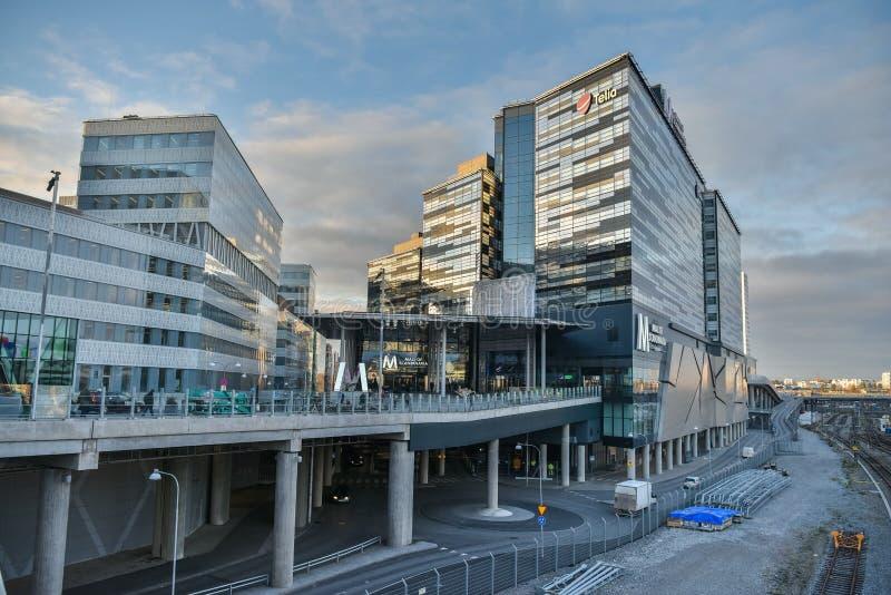 Centro commerciale del centro commerciale della Scandinavia in Solna, Svezia immagine stock libera da diritti