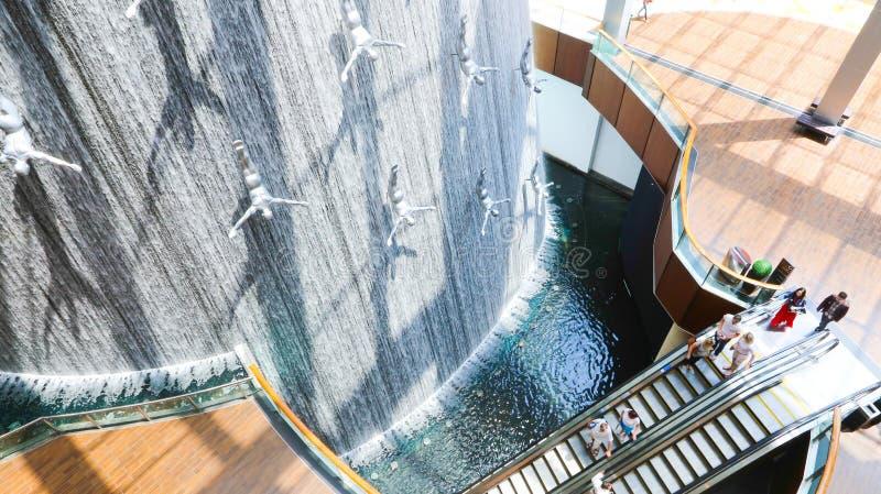 Centro commerciale del Dubai fotografia stock