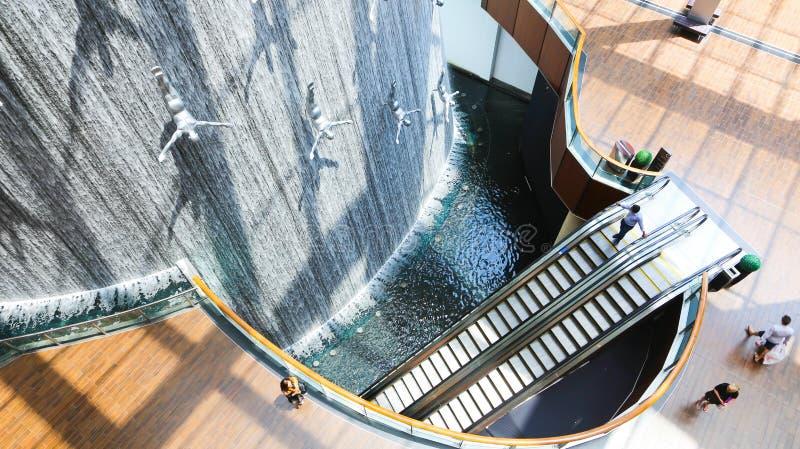 Centro commerciale del Dubai immagine stock