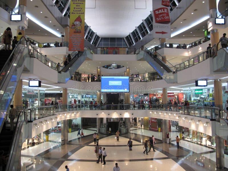 Centro commerciale del sud della città in Calcutta immagini stock