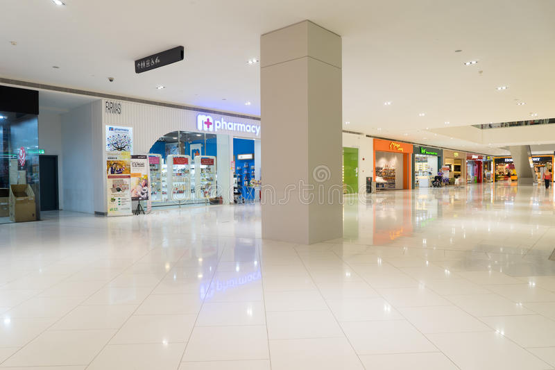 Centro commerciale di Damen in USJ, Subang Jaya, Malesia fotografia stock libera da diritti