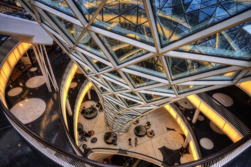 Centro commerciale di Francoforte fotografia stock