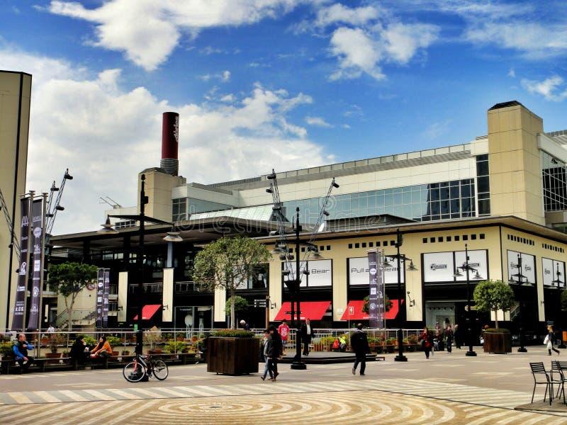 Centro commerciale diagonale a Barcellona, Spagna fotografia stock libera da diritti
