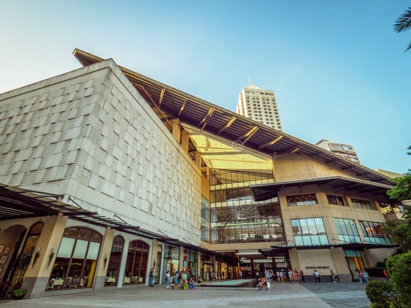 Centro commerciale Filippine della zona verde di Manila fotografie stock libere da diritti