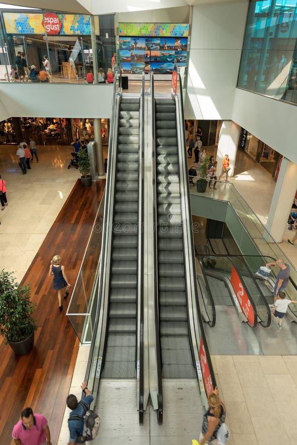 Centro commerciale Maremagnum - Barcellona Spagna fotografia stock