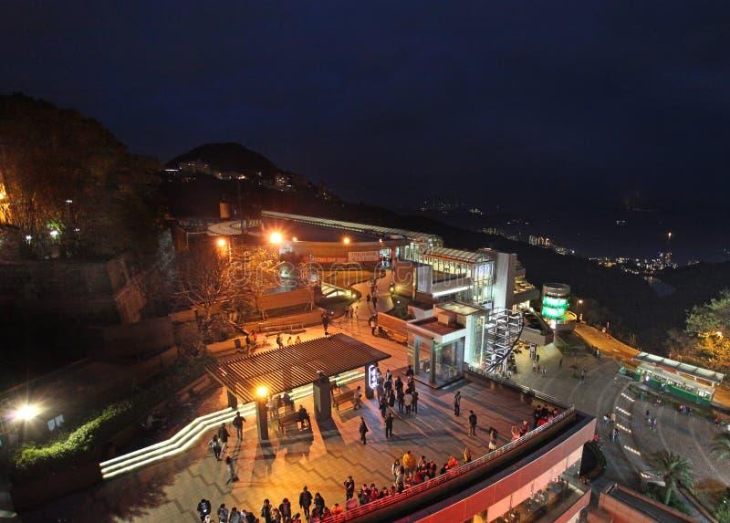 Centro commerciale su Victoria Peak (il picco), Hong Kong fotografie stock