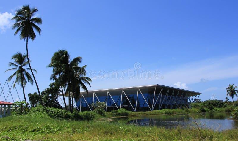Centro congressi equatoriale fotografia stock libera da diritti