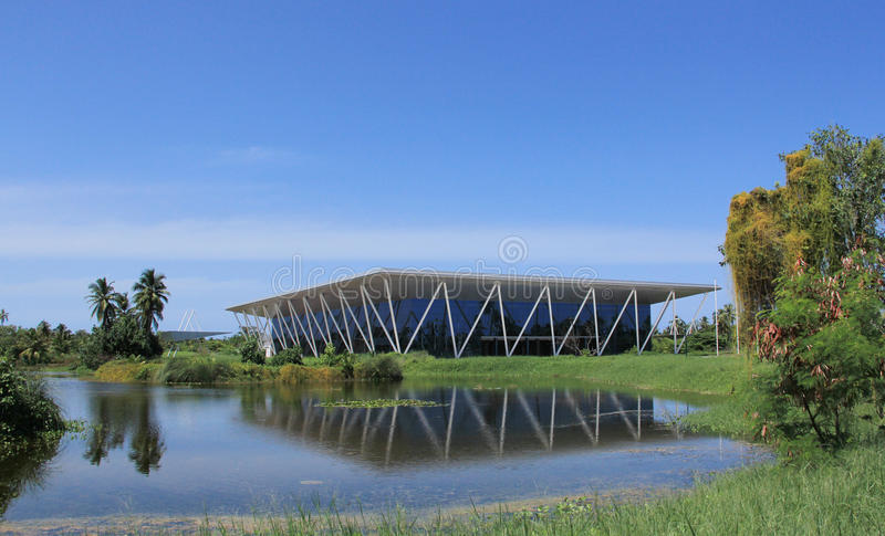 Centro congressi equatoriale fotografie stock