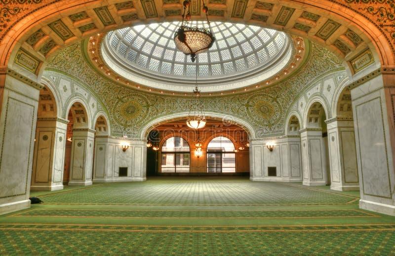 Centro cultural de Chicago foto de stock
