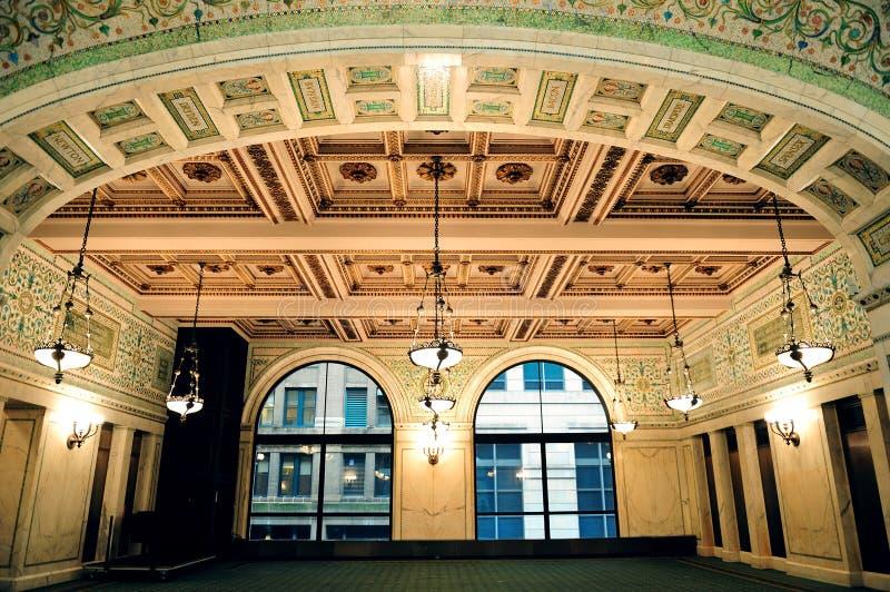 Centro cultural de Chicago mim imagens de stock