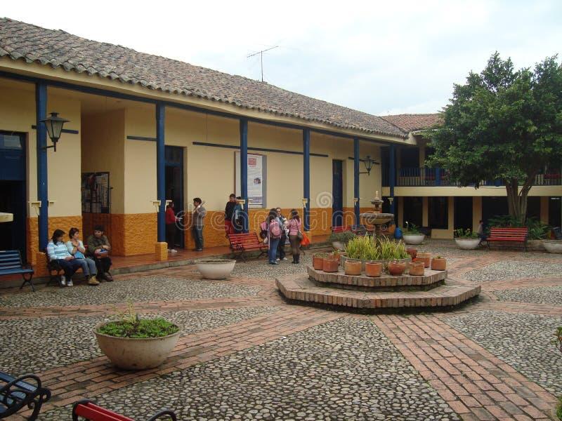 Centro cultural de Tabio imagens de stock royalty free