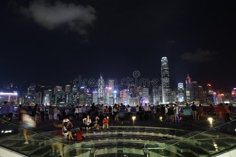 Centro cultural en Tsim Sha Tsui, Hong Kong imagen de archivo libre de regalías