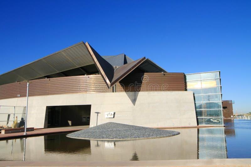 Centro cultural moderno no Arizona imagens de stock royalty free