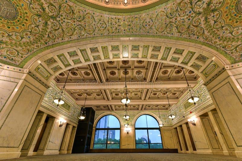 Centro culturale del Chicago fotografia stock