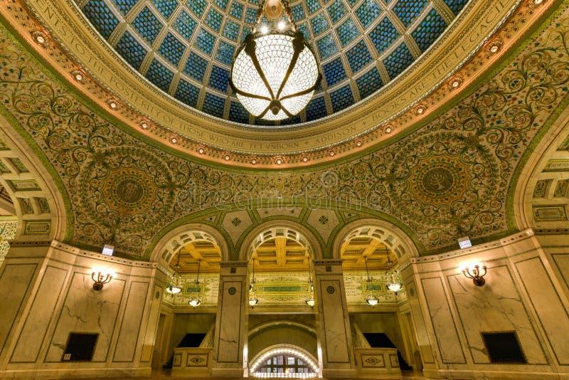 Centro culturale del Chicago fotografie stock