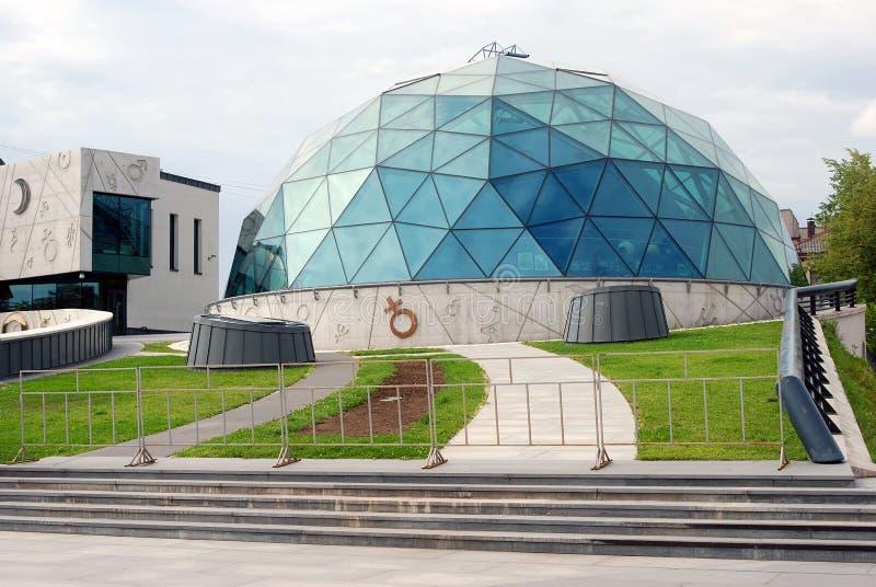 Centro culturale e scolastico in Yaroslavl, Russia immagine stock libera da diritti