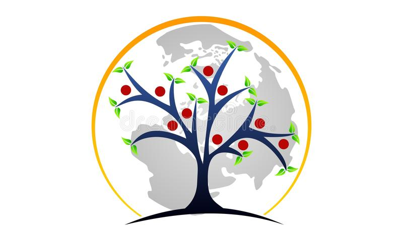 Centro curativo dell'albero della vita royalty illustrazione gratis