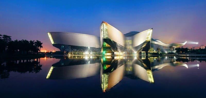 Centro da ciência de Guangdong foto de stock royalty free