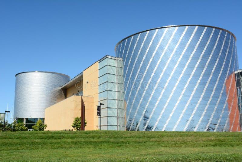 Centro da ciência de Iowa fotografia de stock