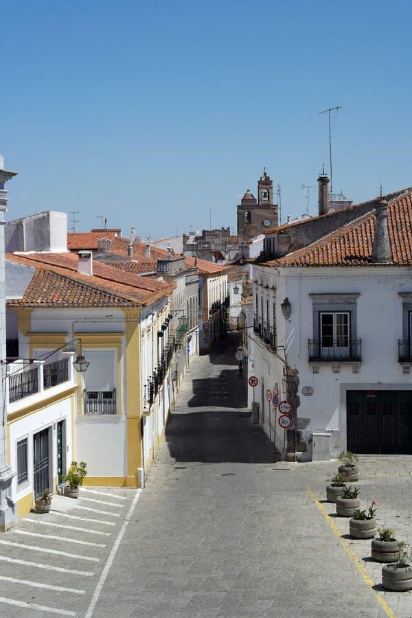 Centro da cidade, Beja, Portugal imagens de stock royalty free
