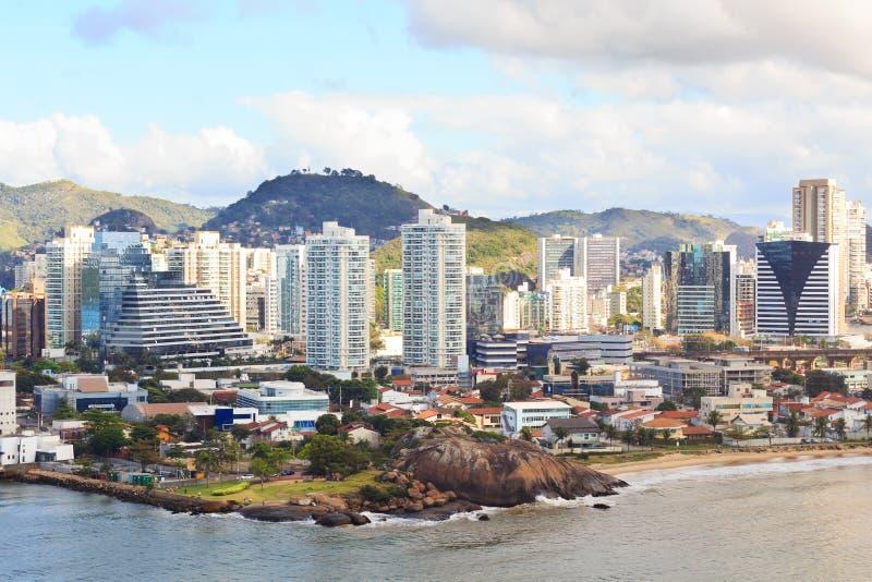 Centro da cidade de Vitoria, Vila Velha, Espirito Santo, Brasil imagens de stock royalty free