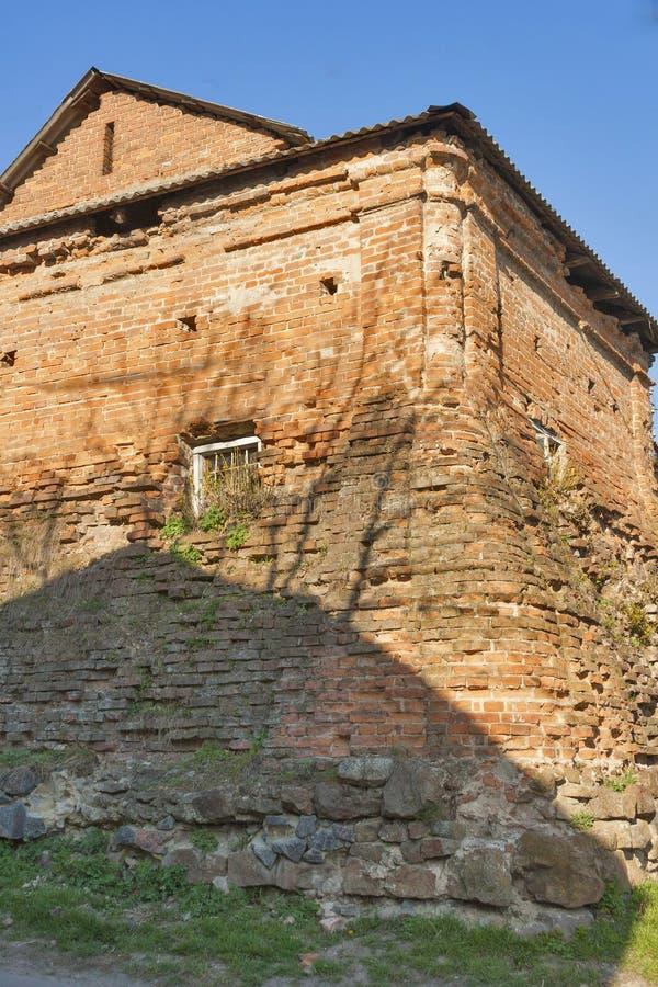Centro da cidade histórico de Vinnitsia, Ucrânia fotos de stock royalty free