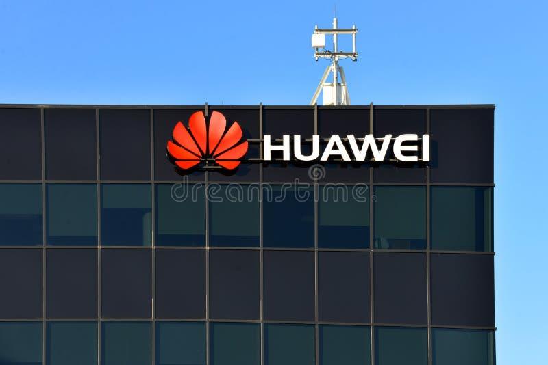 Centro da pesquisa & de desenvolvimento de Huawei em Canadá foto de stock