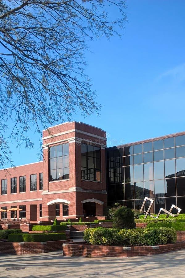 Centro da universidade fotografia de stock royalty free