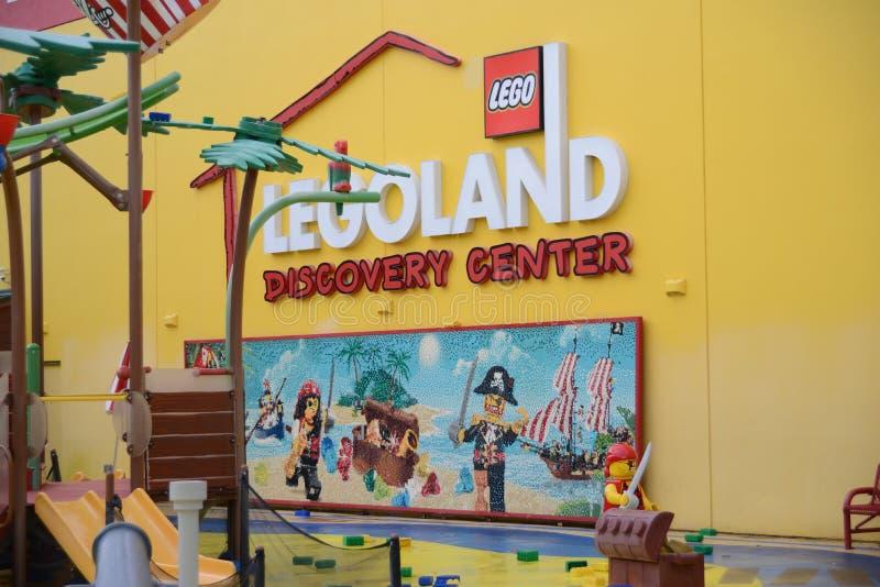 Centro Dallas Fort Worth di scoperta di Legoland fotografia stock