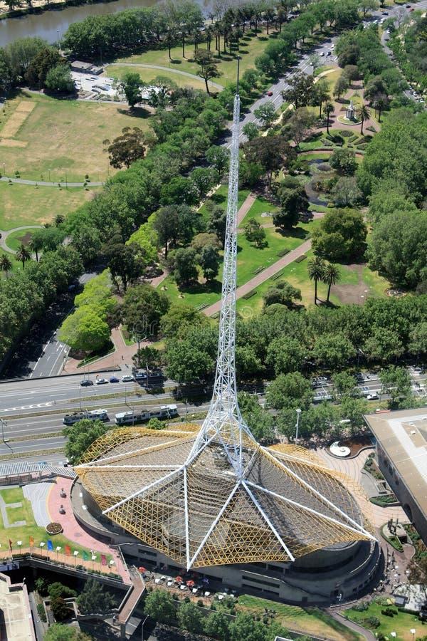 Centro das artes de Melbourne imagem de stock