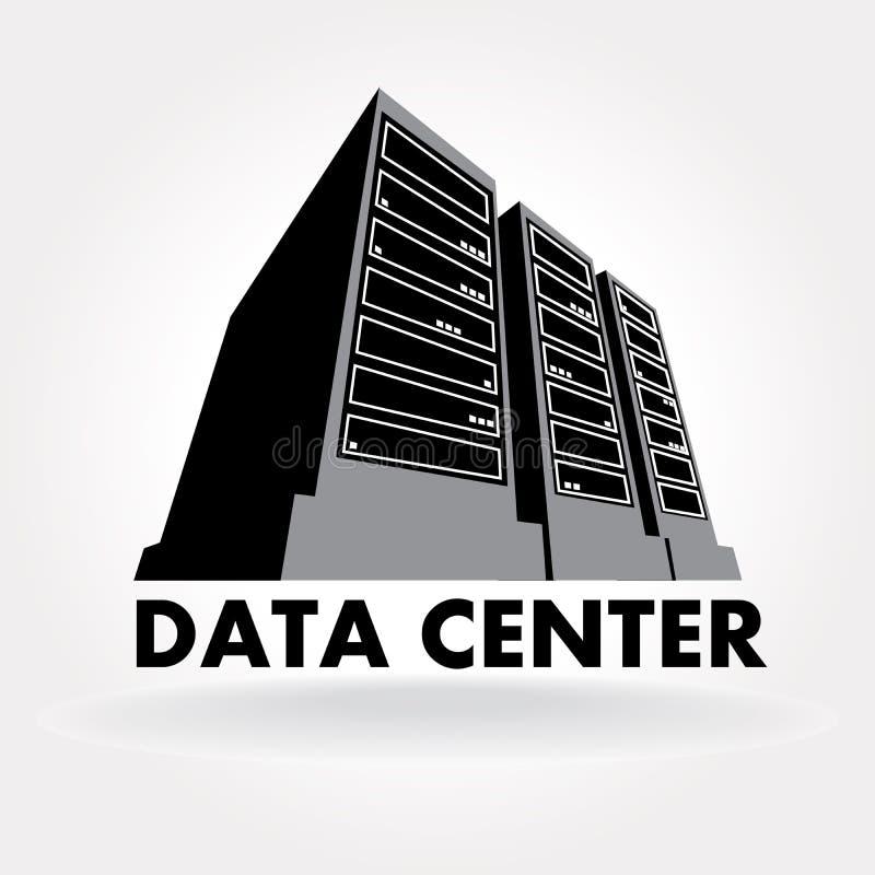 Centro dati illustrazione di stock