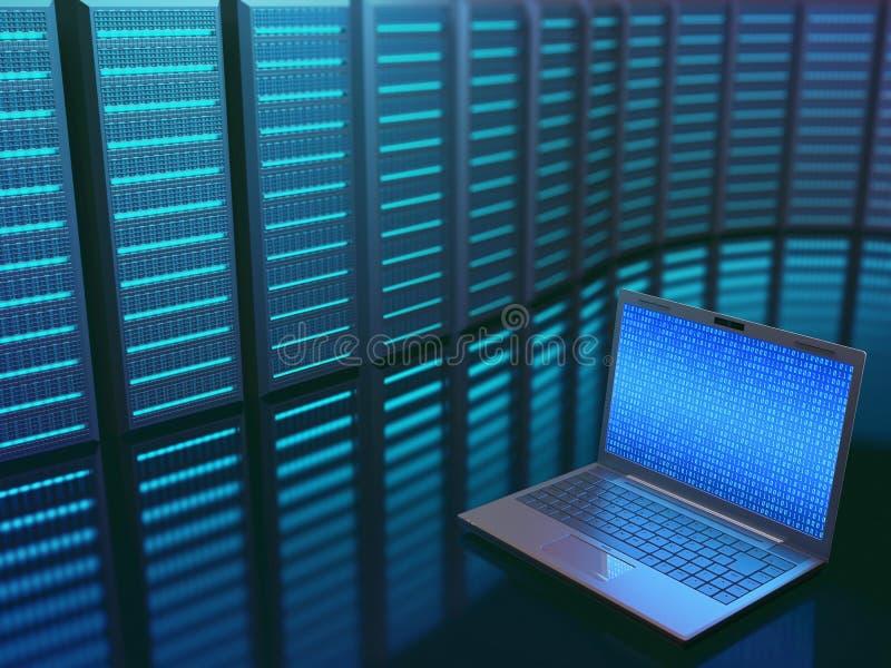Centro dati Access fotografia stock