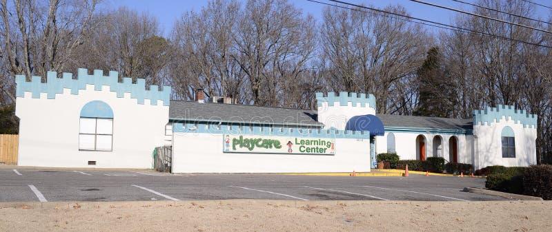 Centro de aprendizagem de Playcare, Bartlett, TN fotografia de stock royalty free