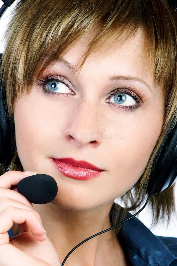 Download CENTRO DE ATENCIÓN TELEFÓNICA Imagen de archivo - Imagen de auricular, businesswoman: 1279053