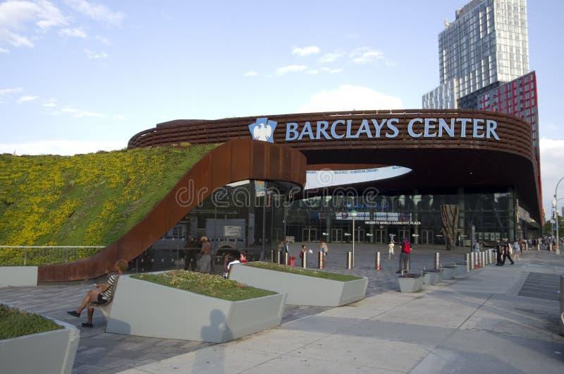 Centro de Barclays em Brooklyn New York imagens de stock