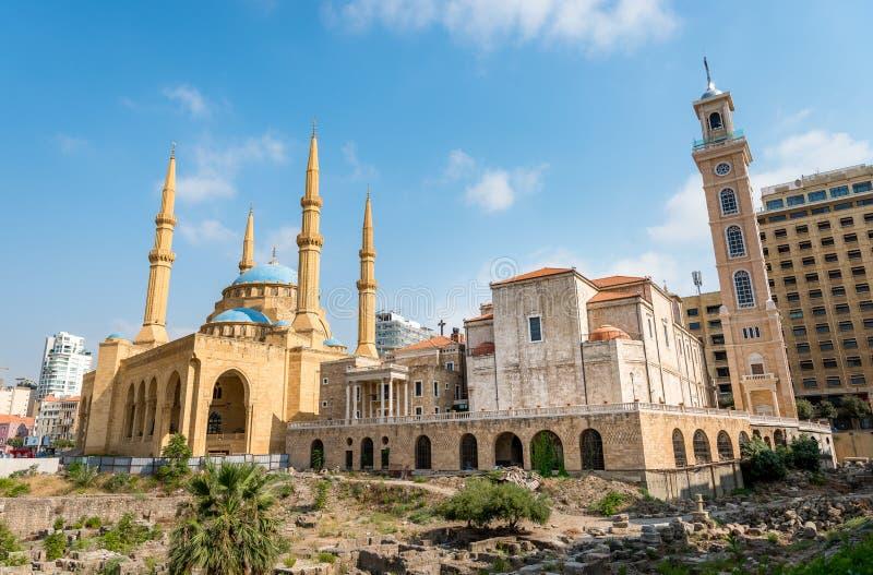 Centro de Beirut Líbano fotos de archivo libres de regalías
