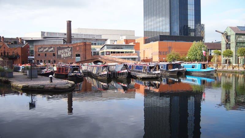Centro de Birmingham fotografía de archivo libre de regalías